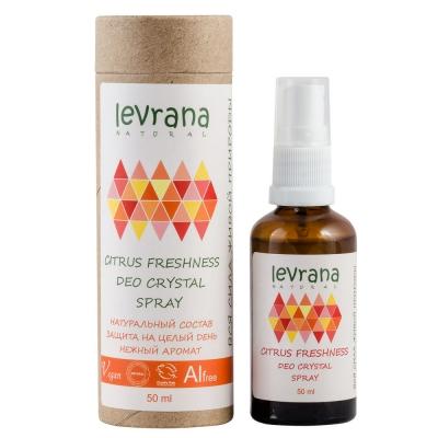 Levrana дезодорант «Цитрусовая свежесть»
