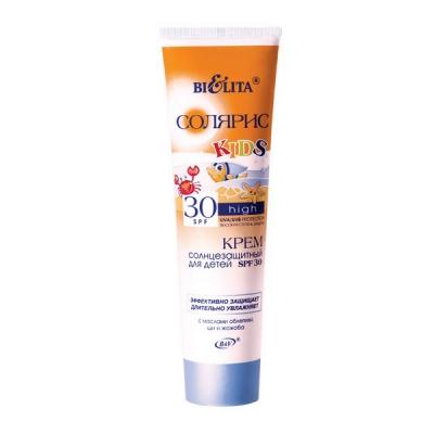 Крем солнцезащитный для детей SPF 30 с маслом облепихи