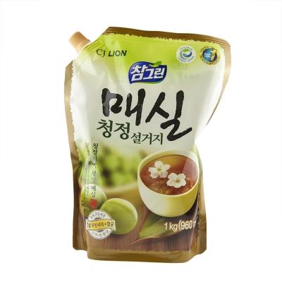 Cj Lion Chamgreen - Средство для мытья посуды, овощей и фруктов Японский абрикос