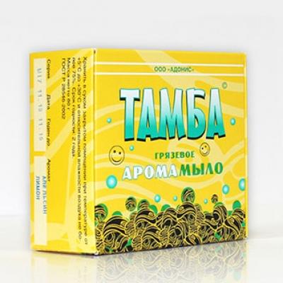 Грязевое арома-мыло ТАМБА ЛИМОН-ЛАВАНДА