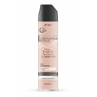 BB Лак для волос Совершенная укладка суперсильной фиксации 12 эффектов