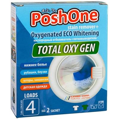 Отбеливатель+пятновыводитель Posh One Total Oxy Gen