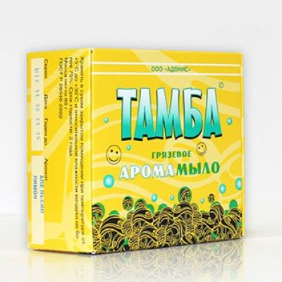 Грязевое арома-мыло ТАМБА ЧАЙНОЕ ДЕРЕВО-МЯТА