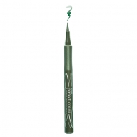 Подводка-фломастер для глаз LUXVISAGE Perfect Color (зелёный)