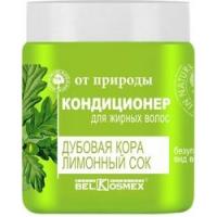 Кондиционер для жирных волос дубовая кора лимонный сок