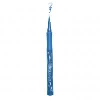 Подводка-фломастер для глаз LUXVISAGE Perfect Color (небесно-голубой)