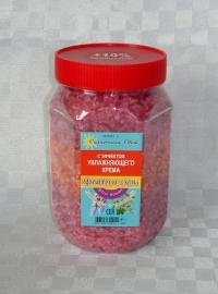 Соль с эффектом увлажняющего крема с лавандой и шалфеем