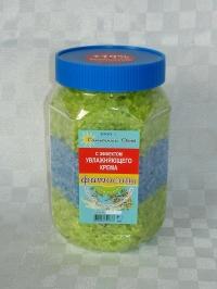 Соль с эффектом увлажняющего крема со зверобоем и тысячелистником
