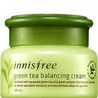 Крем для лица с экстрактом зеленого чая Green Tea Balancing