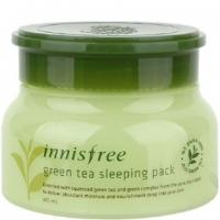 Ночная маска на основе зеленого чая Green Tea Sleeping Pack