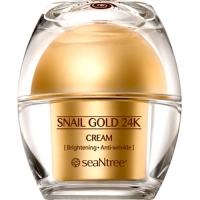 Крем для лица с 24к золотом и экстрактом улитки Snail Gold 24K Cream