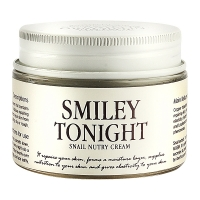 Крем для лица с муцином улитки Smiley Tonight