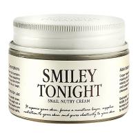 Крем для лица с муцином улитки Smiley Tonight