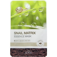 Восстанавливающая маска для лица с муцином улитки Snail Matrix Essence Mask