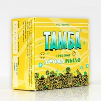 Грязевое арома-мыло ТАМБА КОРИЦА-АПЕЛЬСИН