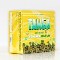 Грязевое арома-мыло ТАМБА МЯТА-ГЕРАНЬ