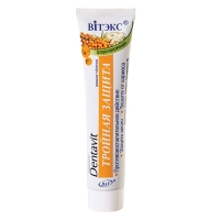 Зубная паста фторсодержащая Ромашка + Облепиха – Тройная защита