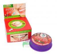Травяная отбеливающая зубная паста с экстрактом мангостина