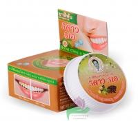 Травяная отбеливающая зубная паста с экстрактом нони