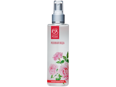 Розовая вода натуральная